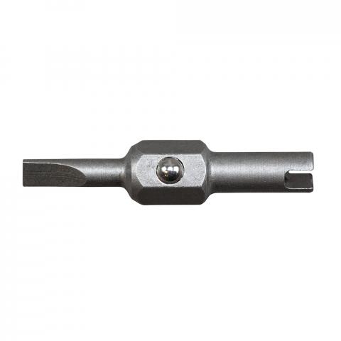 Replacement Bits, 1/8-Inch Slotted and Schrader®