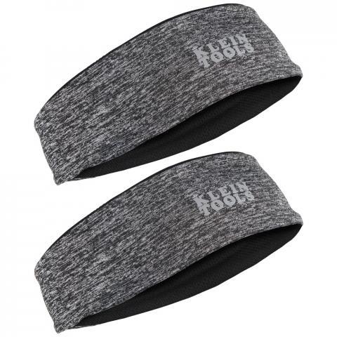 Cooling Headband, Black, 2-Pack