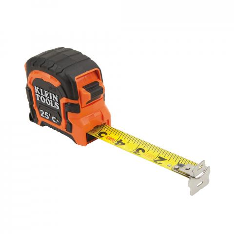 Tape Measure 25-Foot Magnetic Double-Hook