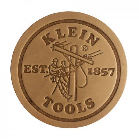 Klein Leather Coasters, Pk 6