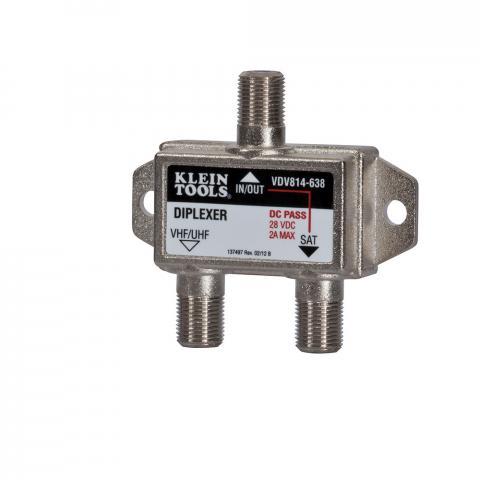 Satellite/TV Diplexer 5 MHz 2.3 GHz