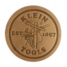 98028 - Klein Leather Coasters, Pk 6